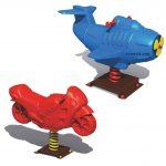 الاکلنگ فنری (زیپ زیپ) موتور و هواپیما